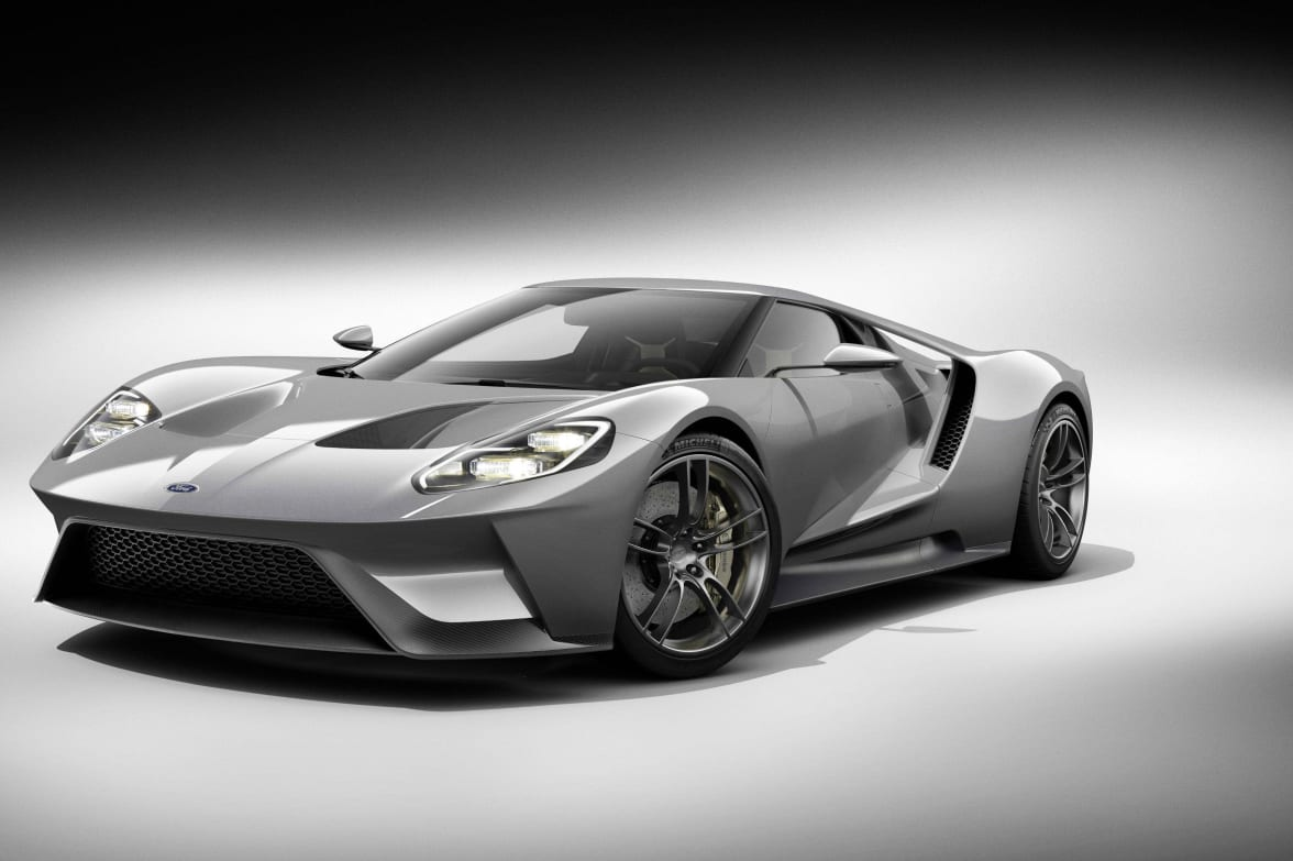 Motor Fans To Get Glimpse Of New Ford Gt