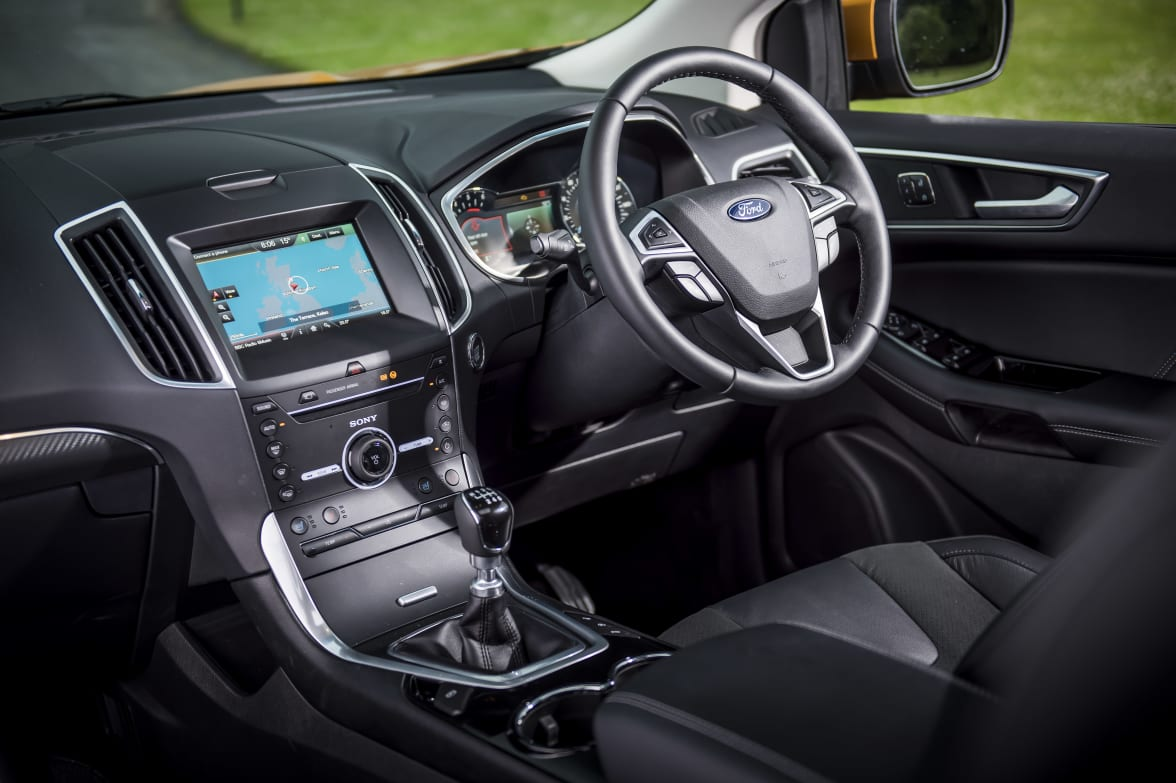 Ford Edge Driver Cockpit