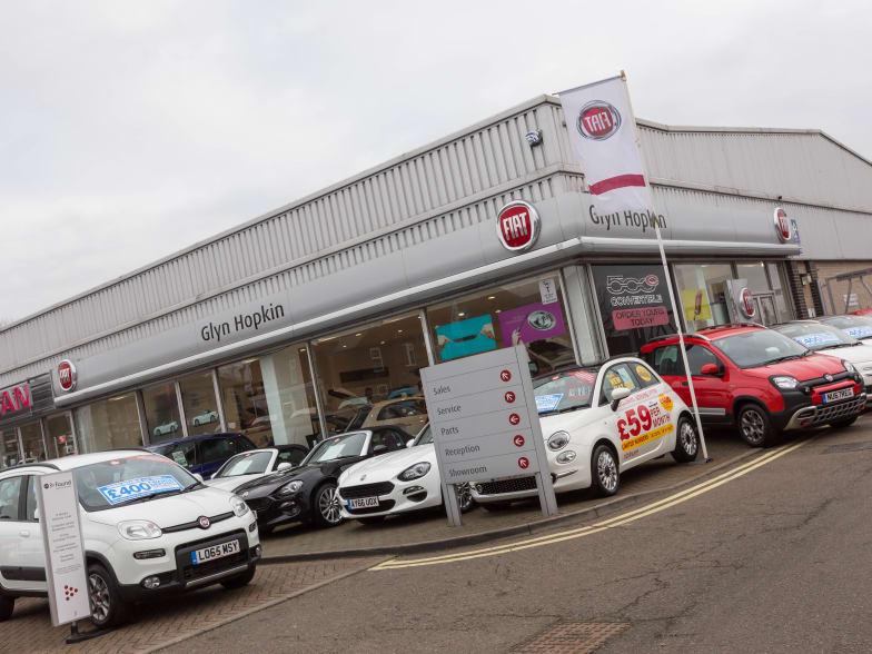 New & Used Fiat Dealer In Ipswich | Glyn Hopkin
