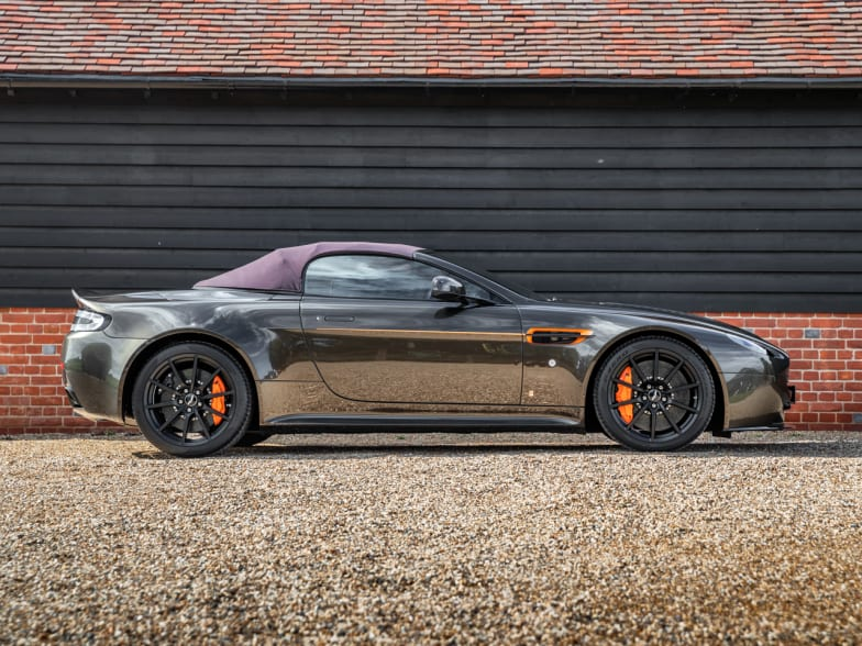 Aston Martin V12 Vantage S Manual Roadster By Q For Sale Nicholas Mee Co