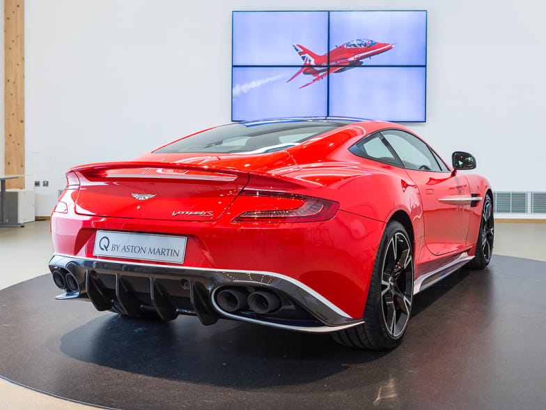 Aston Martin Vanquish S Red Arrows Edition Past Models Jardine Motors