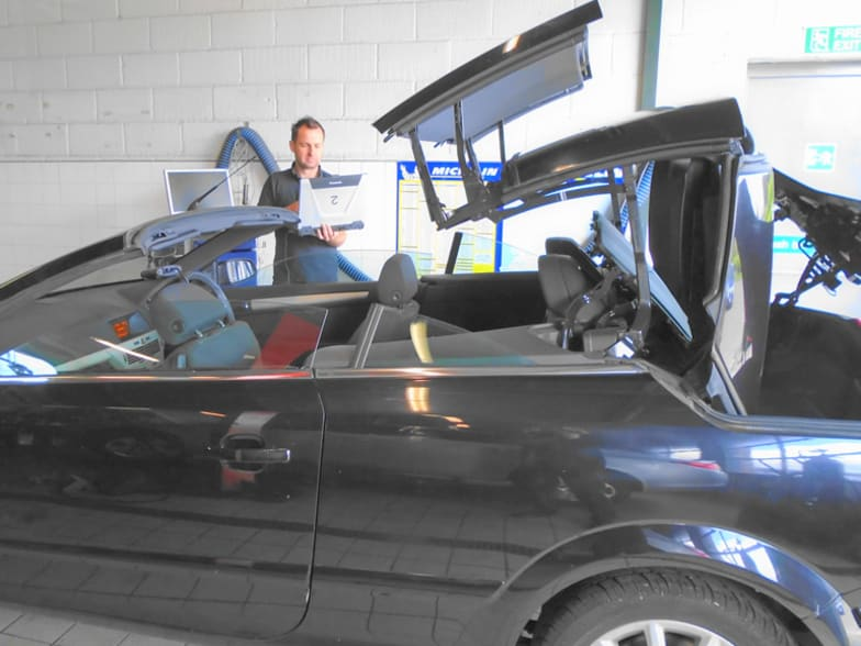 Vauxhall Convertible Repairs   The Cresser Car Company