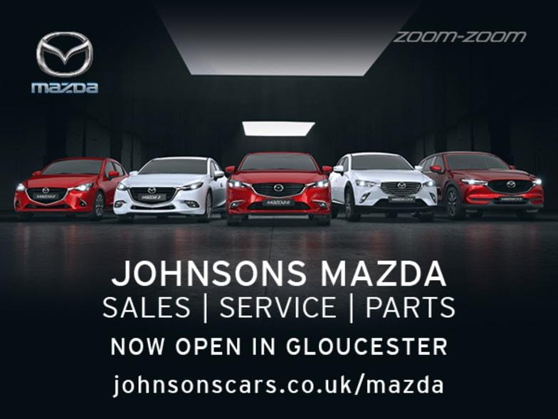 New Johnsons Mazda Gloucester Johnsons Mazda