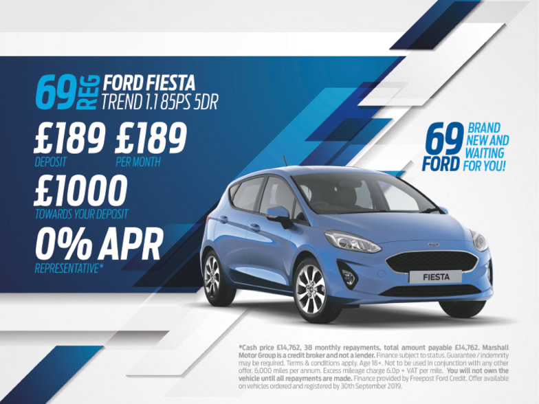Ford Fiesta Exclusive Offers - available from £189 a month