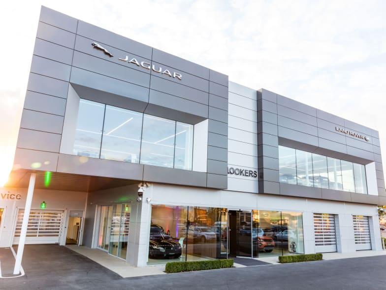 lookers opens new £12 million jaguar land rover dealership