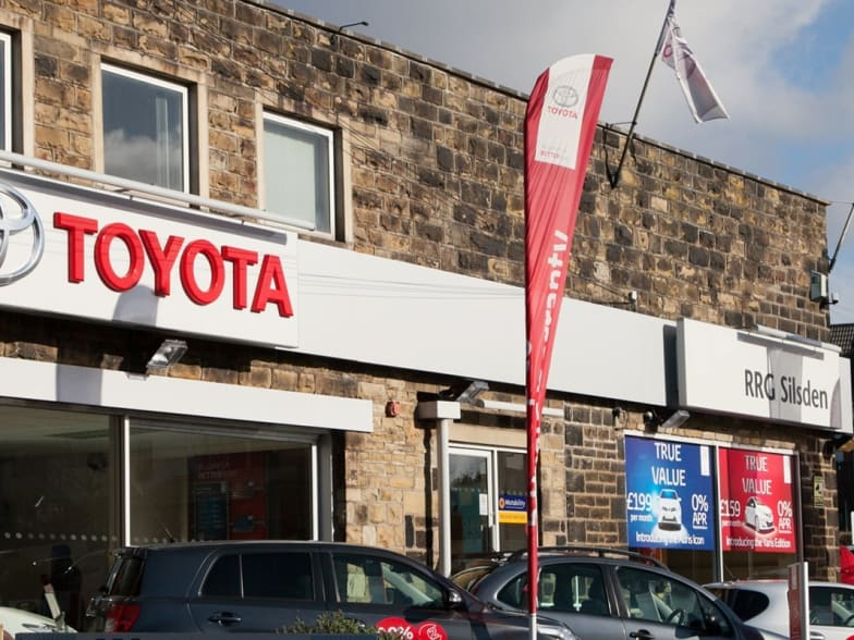 Contact Us In Keighley Rrg Toyota
