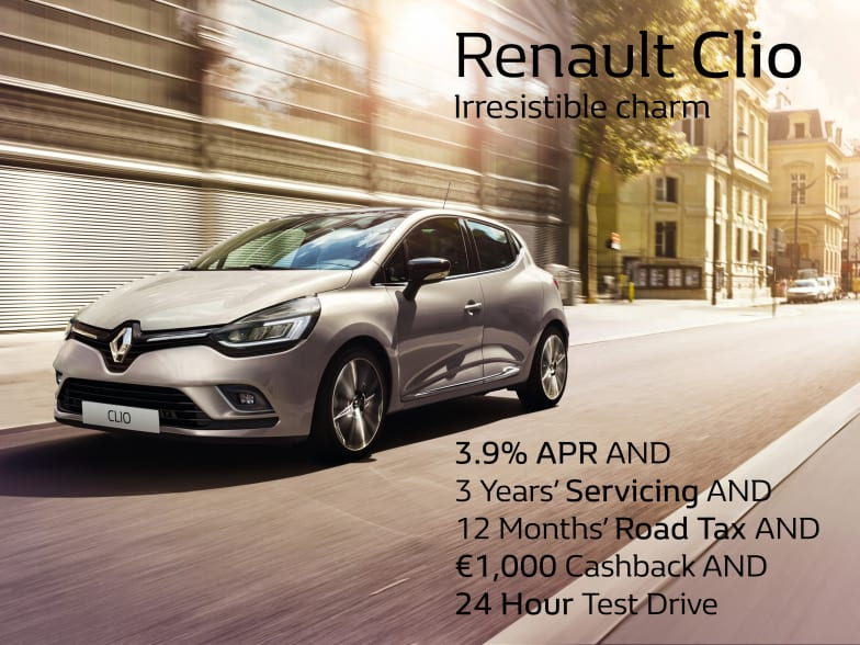 Renault Clio Dublin S Best Selling Small Car Windsor Motor Group