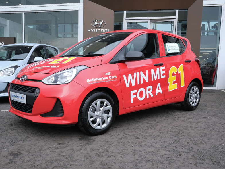 WIN A CAR Southern Hospice 2019 Raffle   Saltmarine