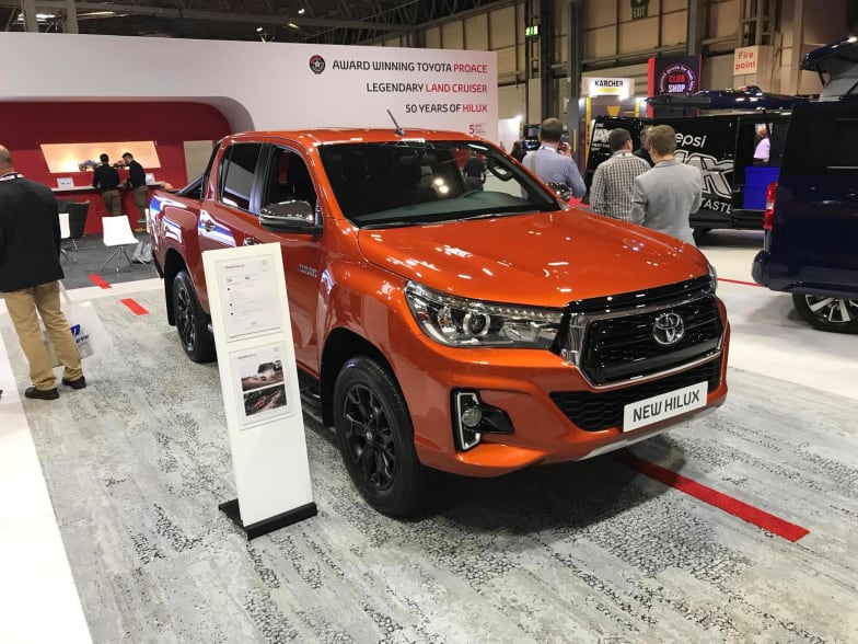 Toyota Commercial Vehicle Show 2018 | W R Davies