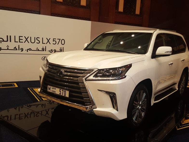 Lexus As Sponsor Of Dubai Number Plates Public Auction Lexus