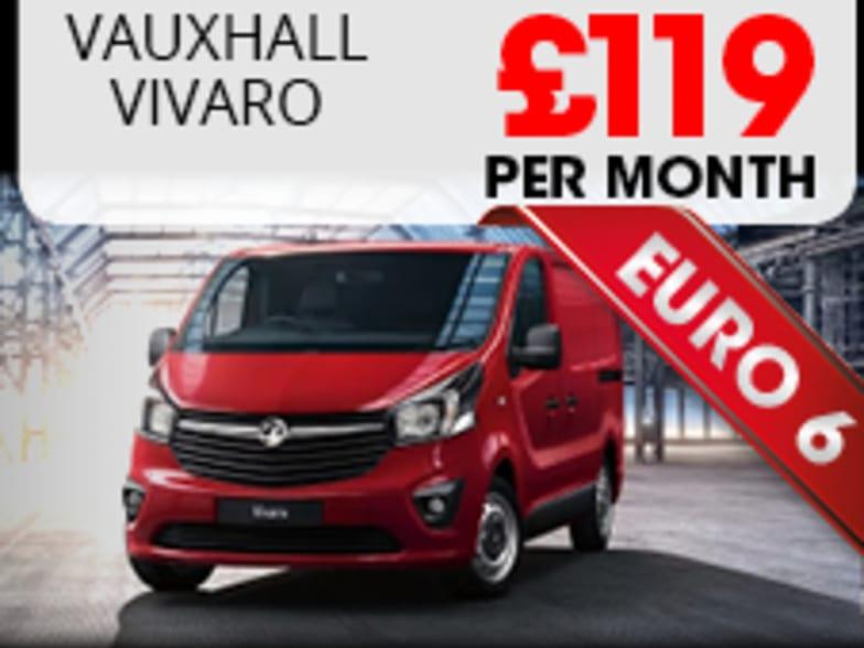 ced8c72c8b8d00 Vauxhall Vivaro Euro 6 Finance Lease