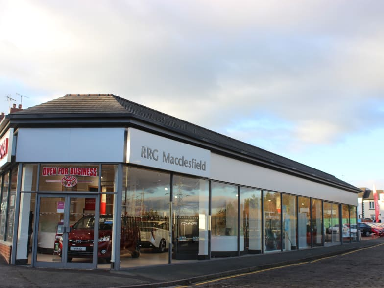 Contact Us In Macclesfield Rrg Toyota
