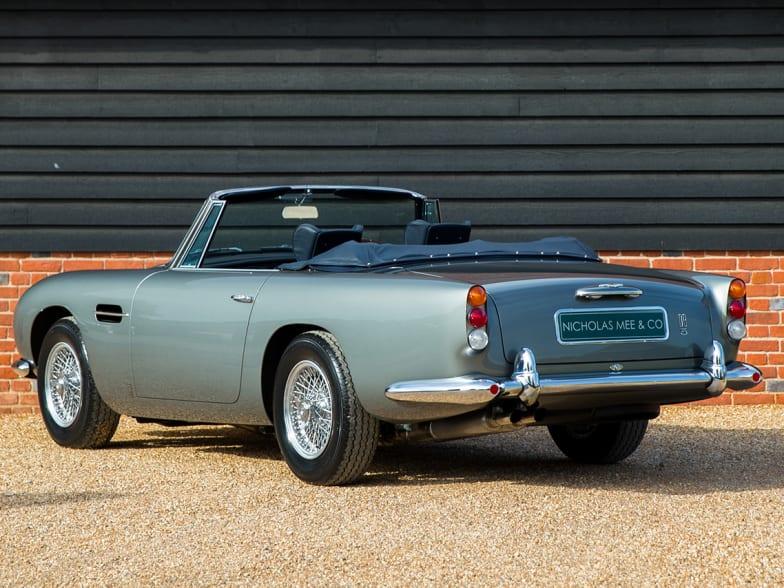 Aston Martin Db5 Convertible For Sale Nicholas Mee Co