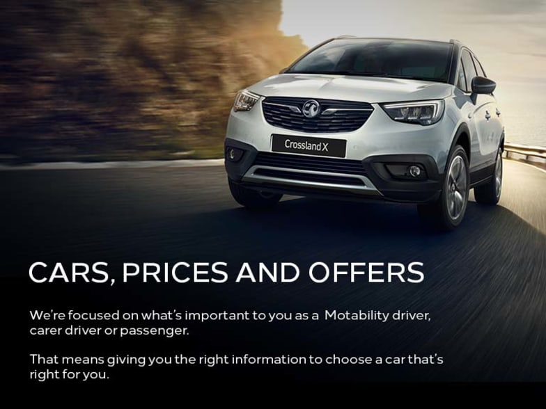 Vauxhall Motability Offers And Prices | Southern