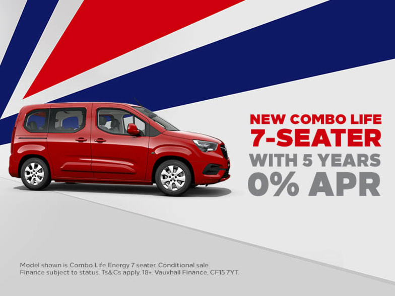 be991c4236 New Combo Life 7 Seater with 5 Years 0% APR