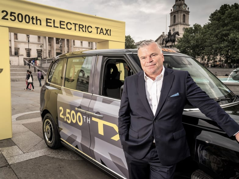 LEVC | New Taxis | Light Commercial Electric Vehicles | Approved