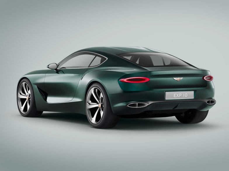 Bentley Unveil their Stunning new Sports Car Concept at the Geneva