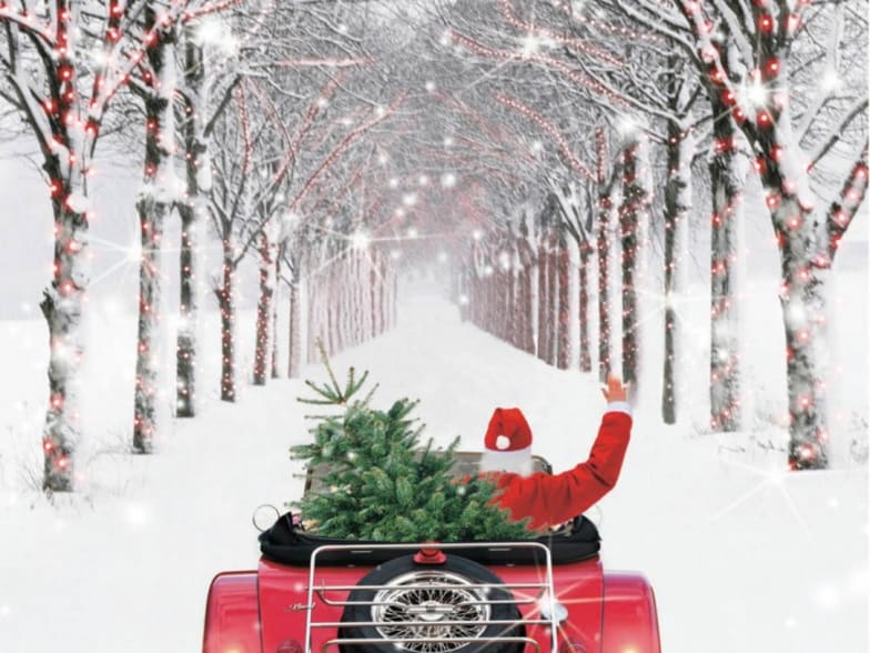 Driving Home For Christmas.Driving Home For Christmas Dorchester Nissan