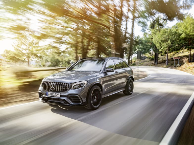 Mastering its segment, the new Mercedes-Benz GLC 63 4MATIC+