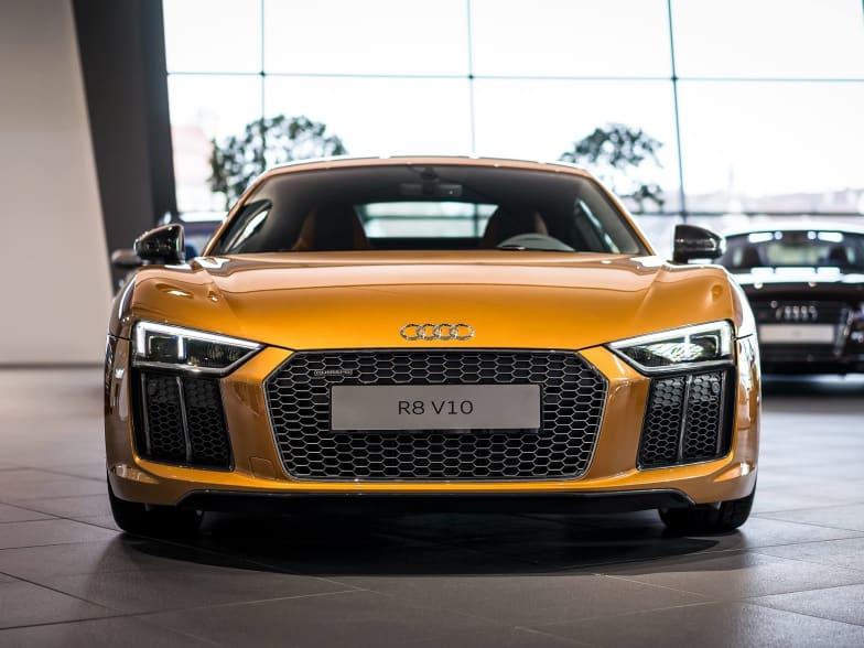 Orange Pearl Effect Audi R8 Jardine Motors Audi