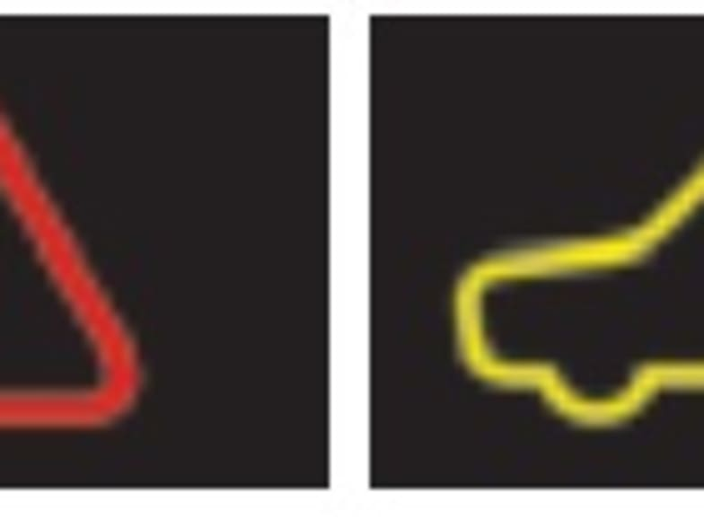 The Yellow Version Is Found In Some European Cars To Show Theres A Problem With The Vehicles Stability Control System If This Appears Drive Your Vehicle