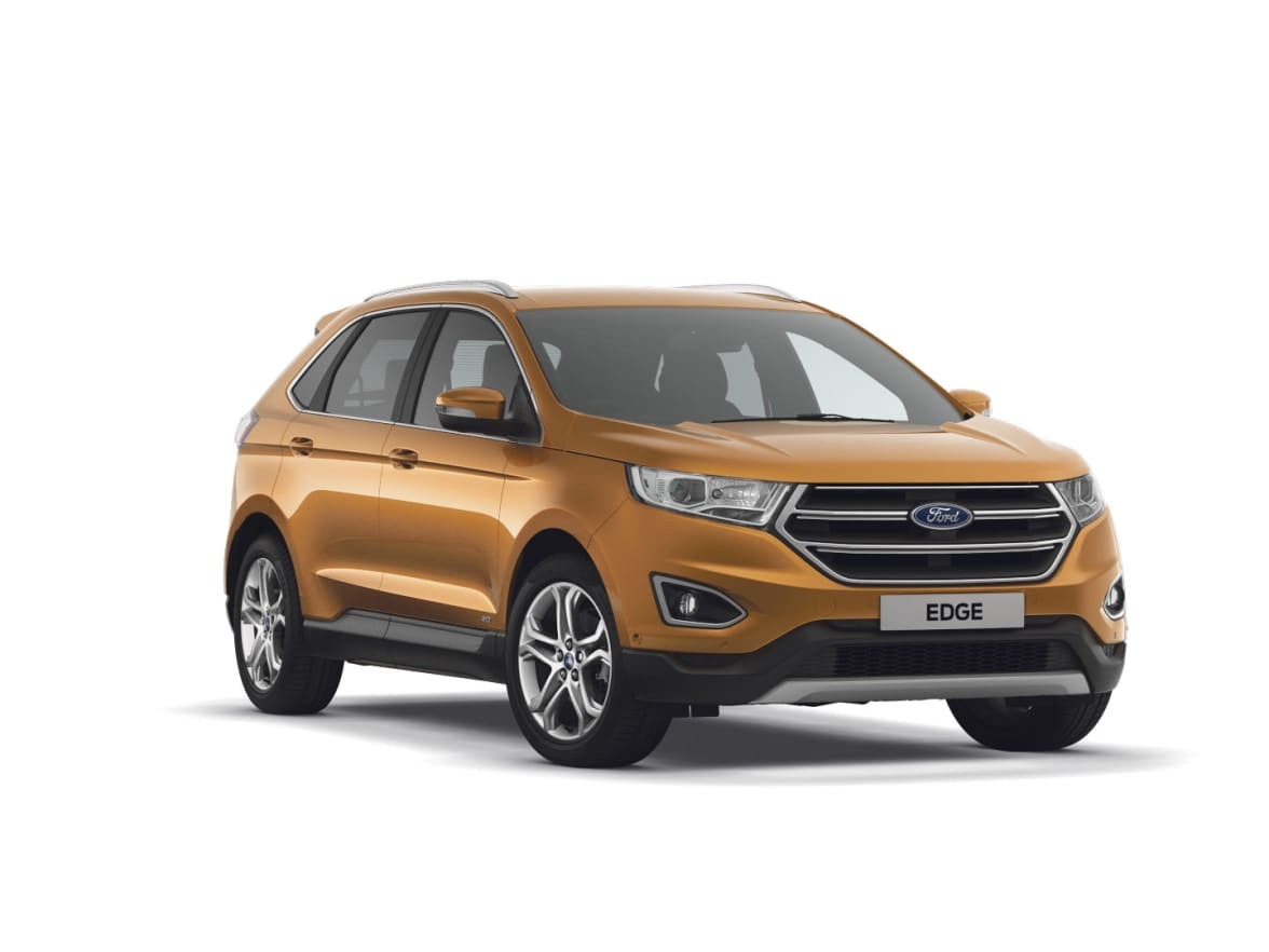 Ford Edge Contract Hire Offers From Furrows Group