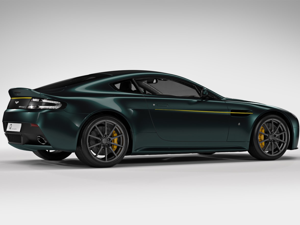 Aston Martin Vantage S Spitfire Past Model Lancaster Aston Martin - Aston martin vantage s