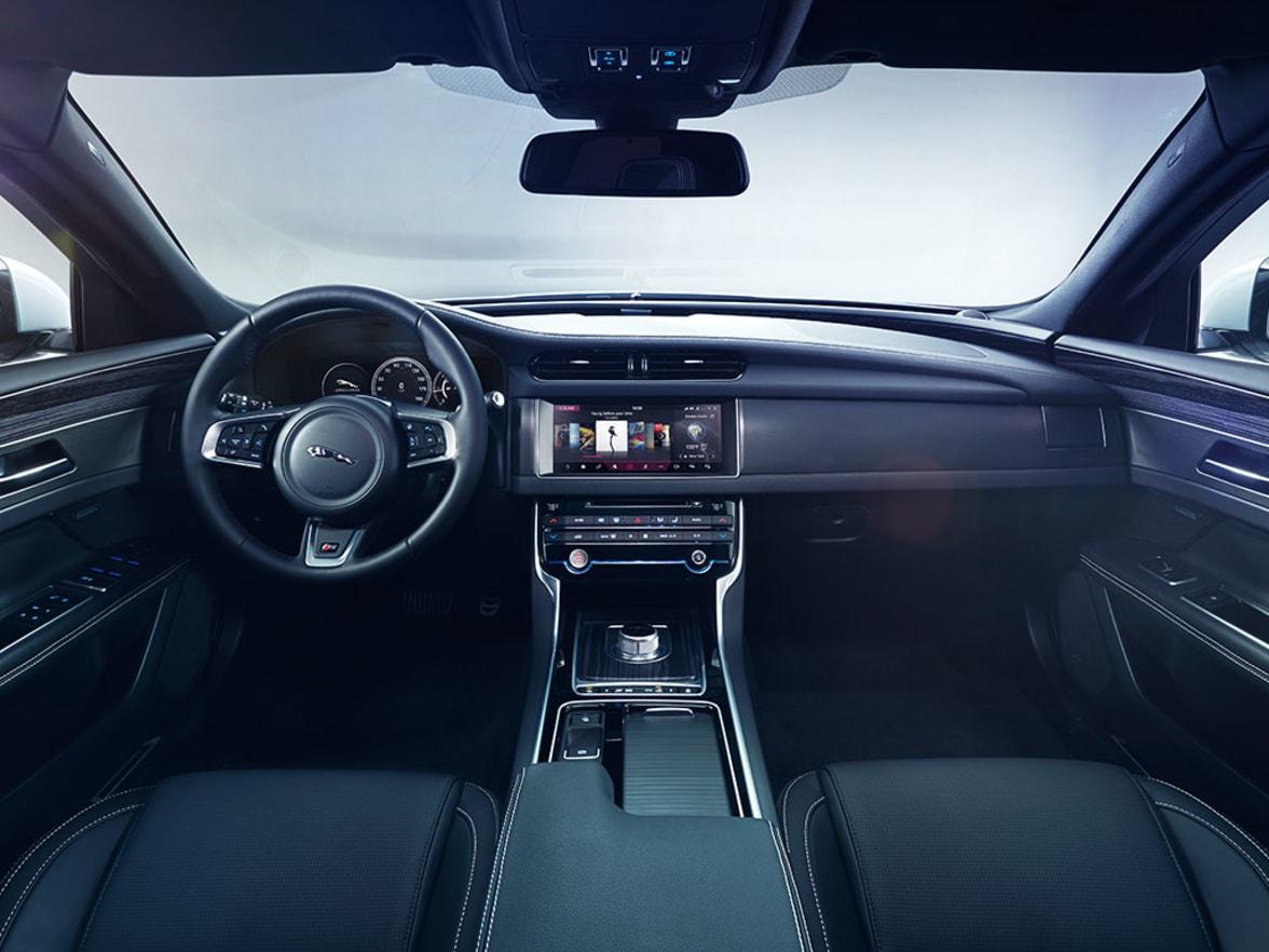 New Jaguar XF Interior