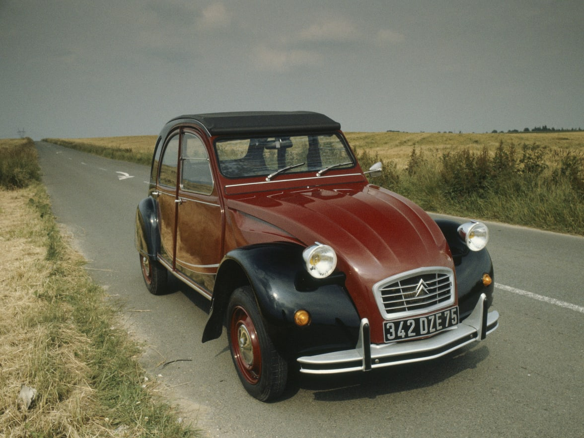 Classic French Cars Citroen Officially Unveiled At The Paris Motor Show In Is One Of Most Identifiable
