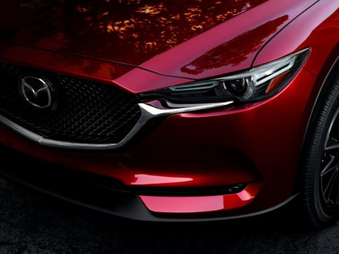 Mazda S New Soul Red Crystal Paint
