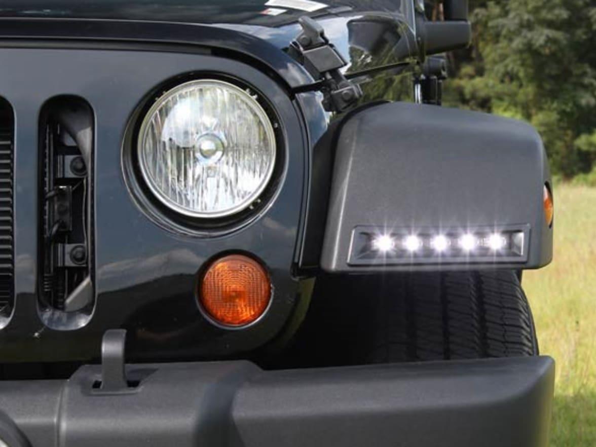 Jeep Car Accessories Mopar Trading Enterprises Jk Fuel Filter Day Running Lights