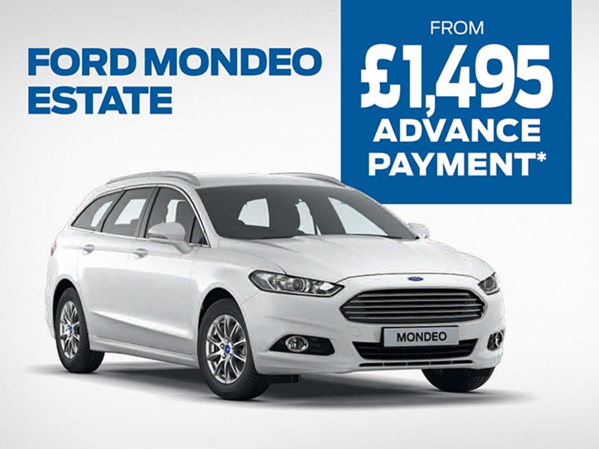 New Ford Mondeo Estate