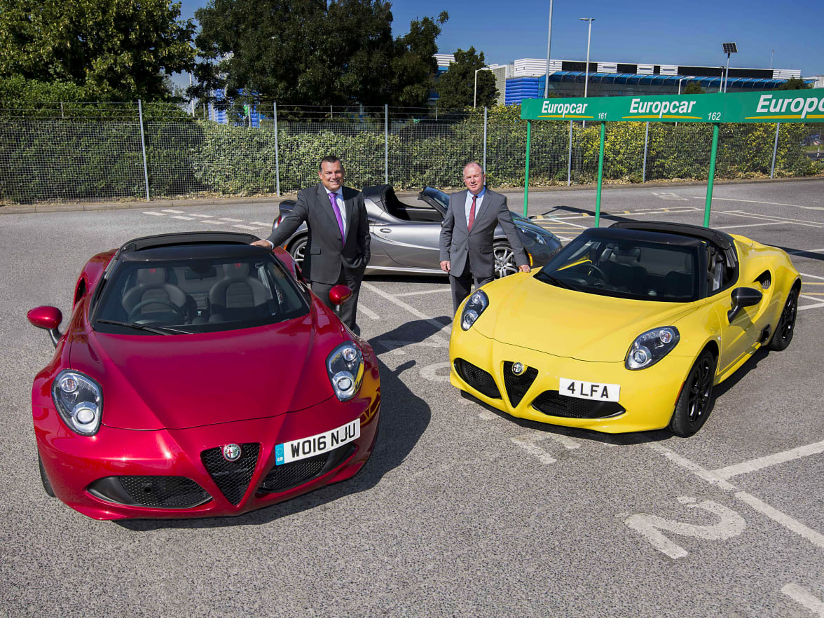 Alfa Romeo 4c Now In Europcar S Selection Fleet
