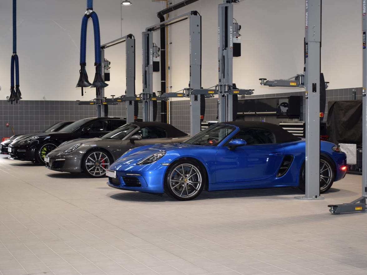 Porsche Centre South London Now Open For Sales Service And Parts