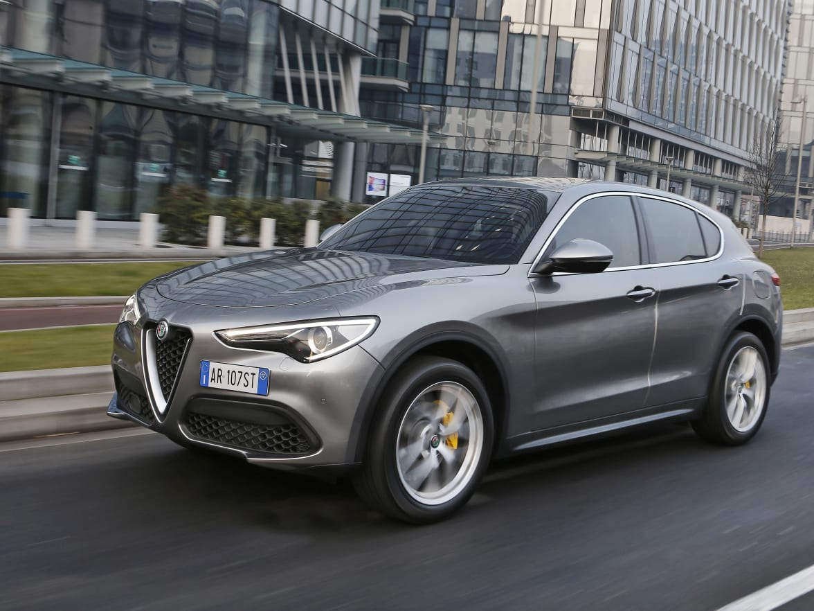 Alfa Romeo Stelvio Guildford Surrey Bishops Rear End Inside The Same Sporty Elegant Imprint Is Apparent Simple Stylish And Tailored Like A Bespoke Suit Hours Of Painstaking