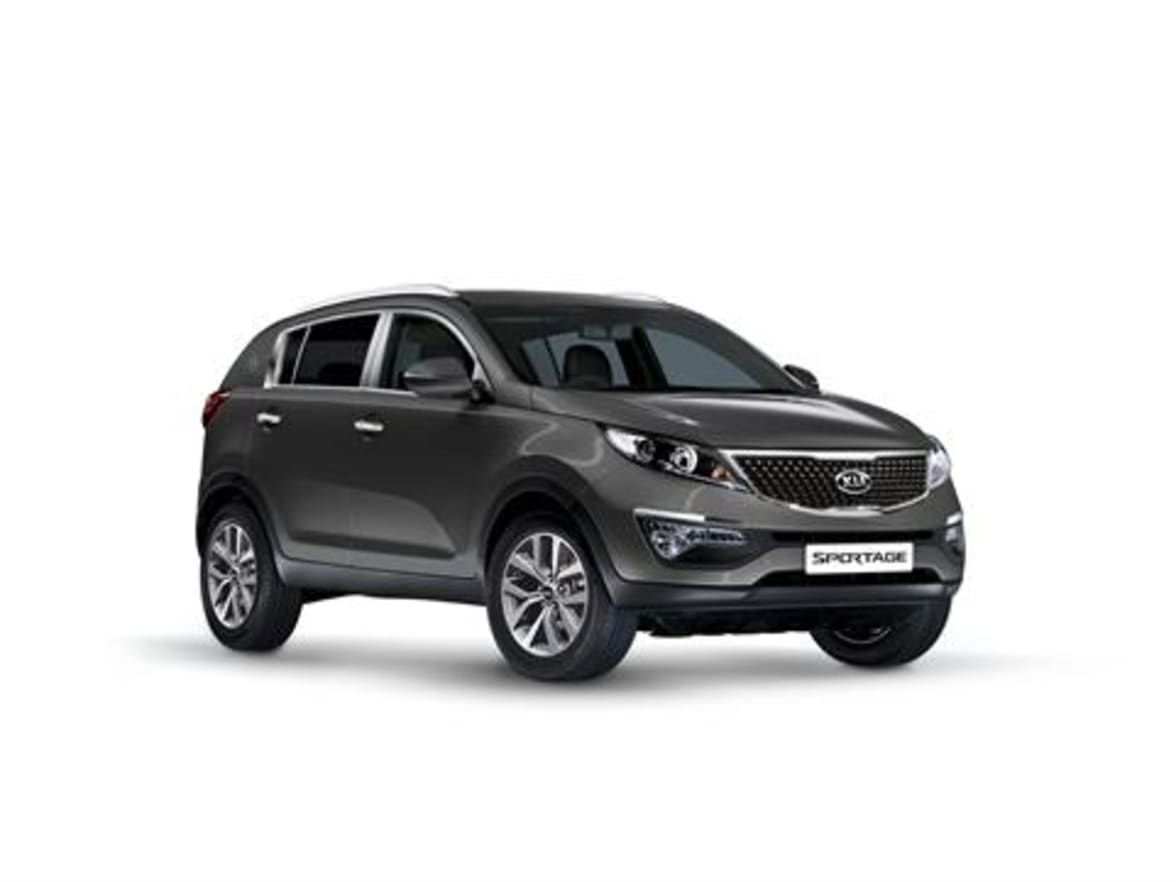 Kia Sportage front side view