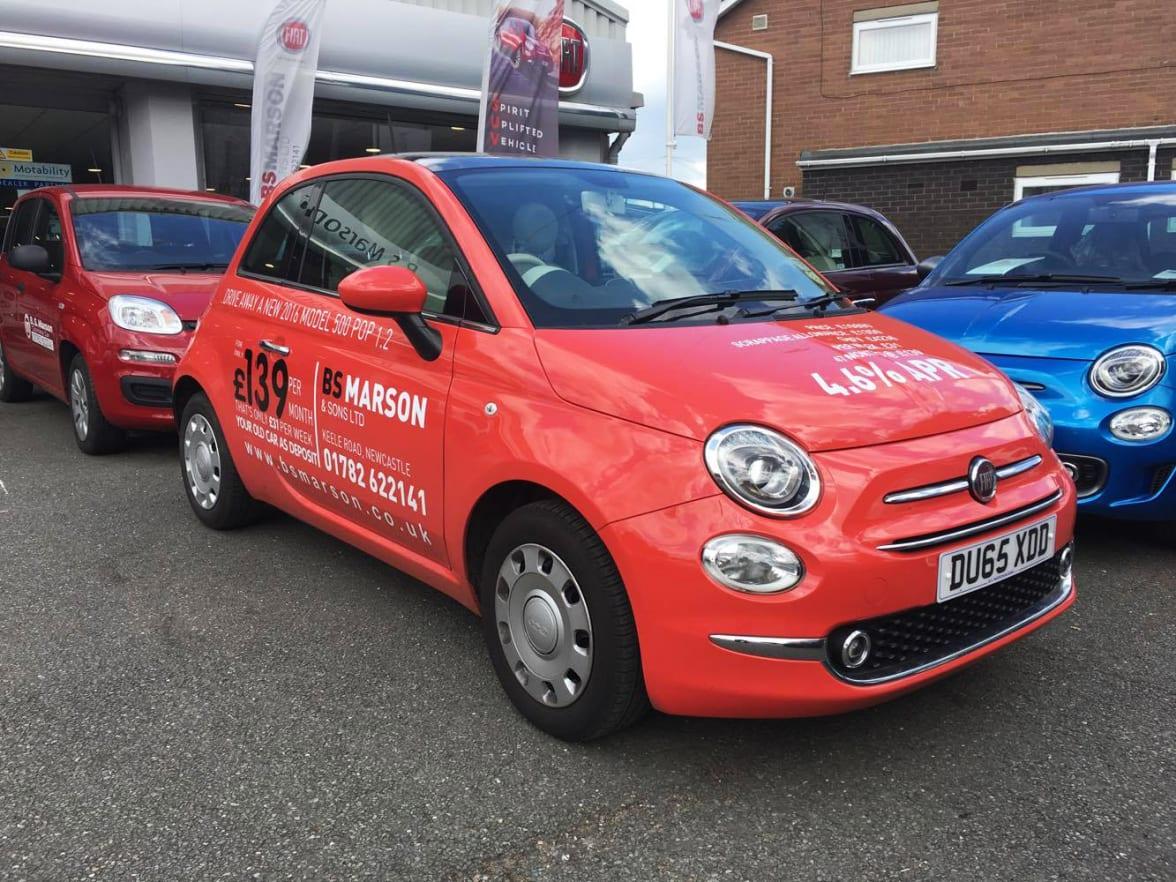 Fiat repair costs