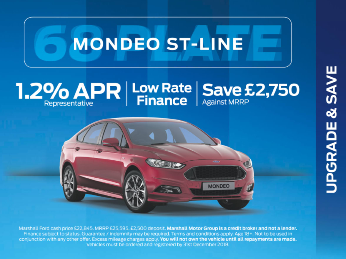 Ford mondeo st line exclusive offers