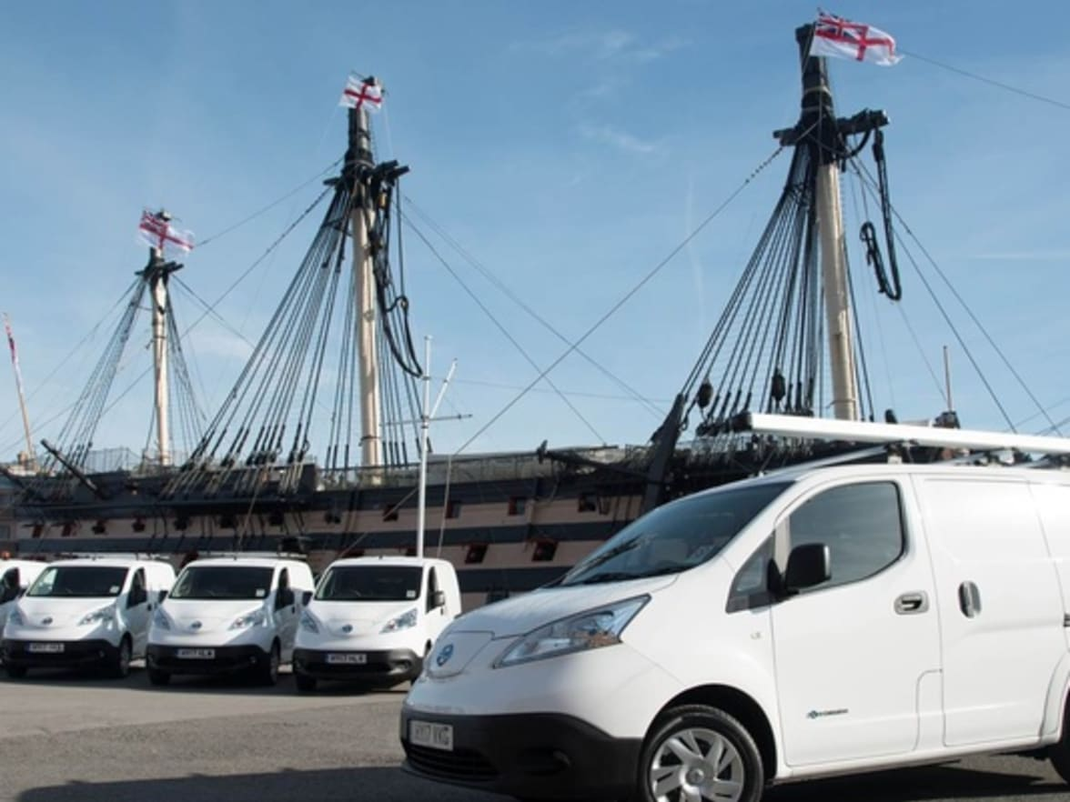 Portsmouth Naval Base are making waves with a fleet of all-electric ...