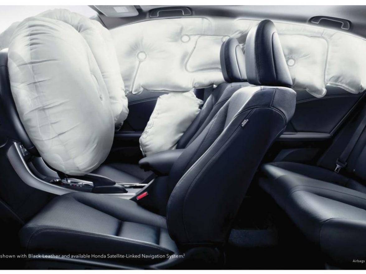Honda Accord: Airbag Service