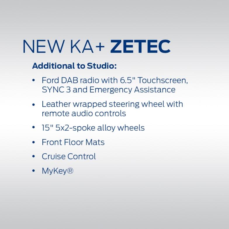 Ford Ka Zetec