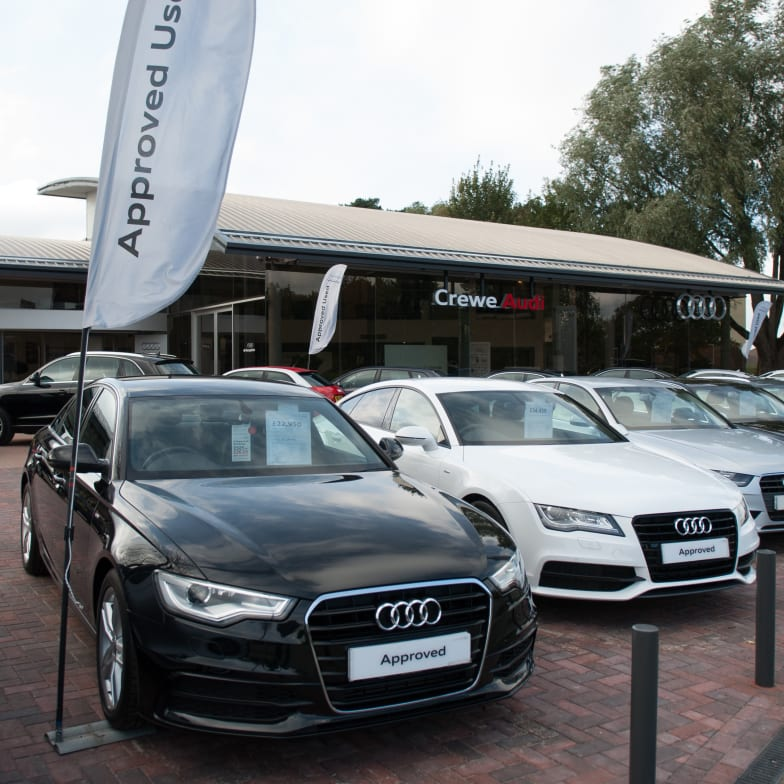 Contact Crewe Audi New Approved Used Audi Cars