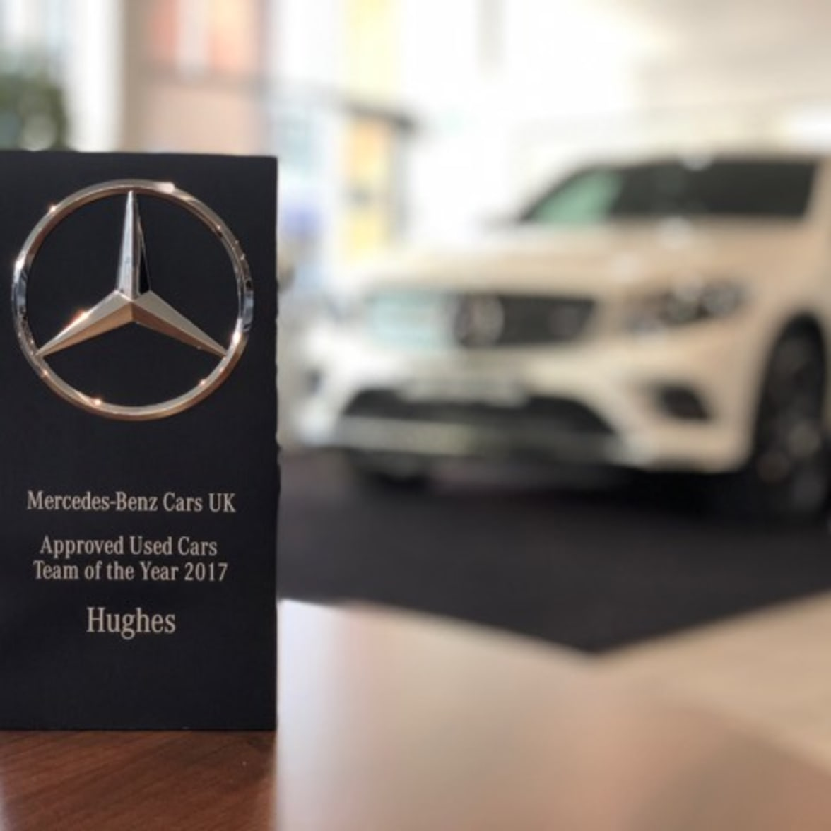 Hughes Wins Mercedes Benz Team Of The Year 2017 Hughes Mercedes Benz