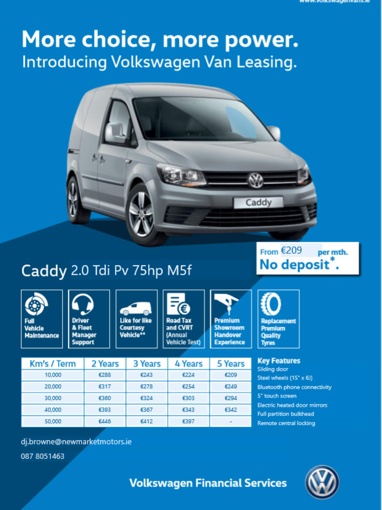 Volkwagen Car Finance | Newmarket, Munster | Newmarket Motors