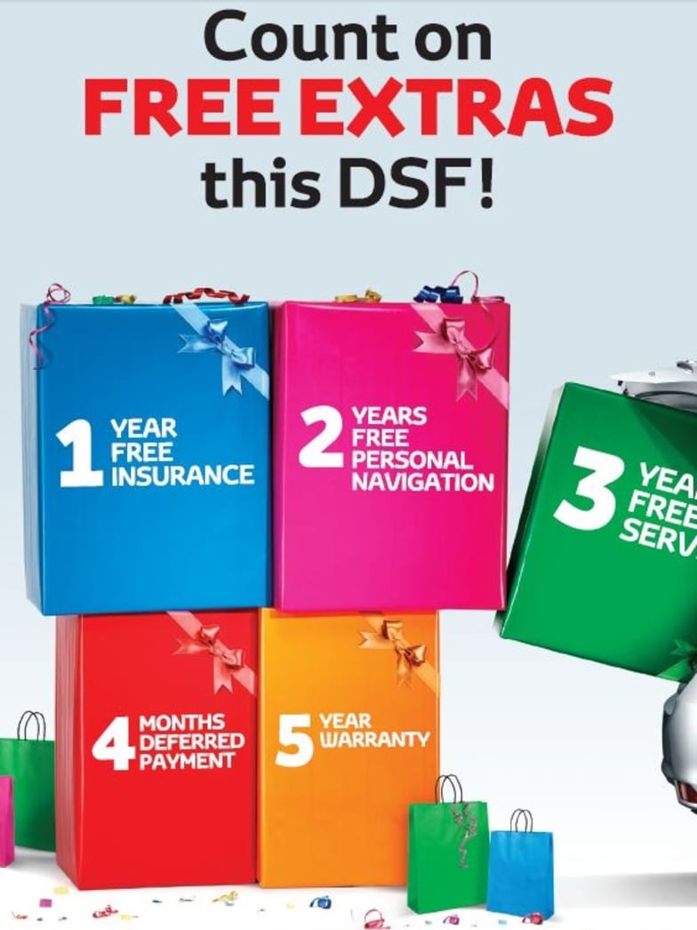 Incredible Free Extras from Al-Futtaim Motors This DSF | Toyota