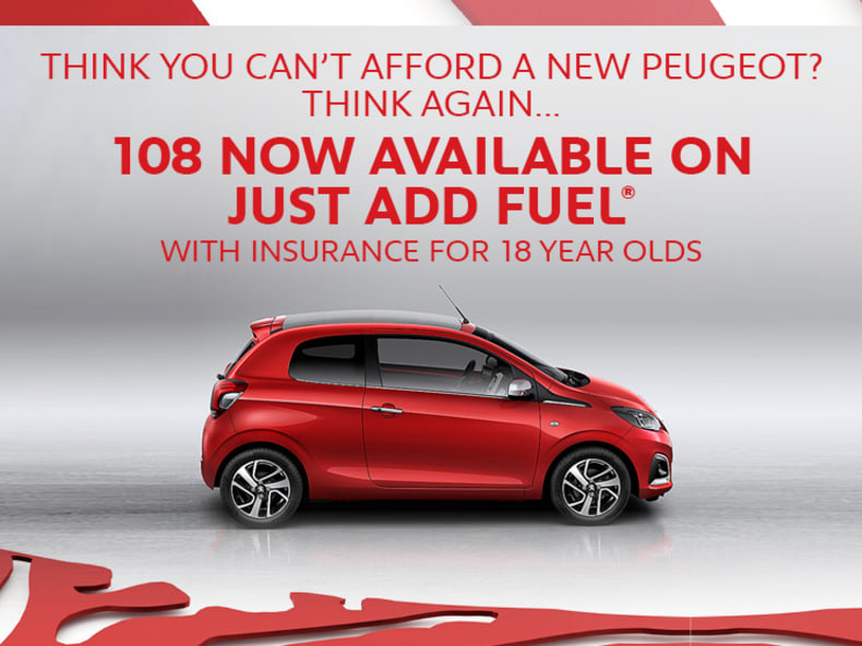 Just Add Fuel At Yeomans Peugeot Yeomans Peugeot