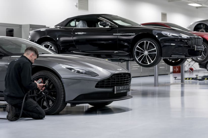 Timeless Certified Pre Owned Programme Aston Martin