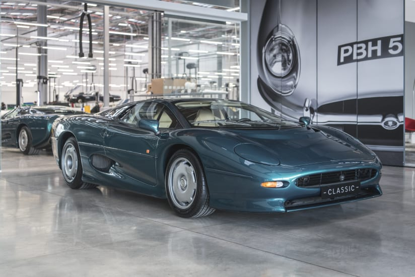Jaguar Land Rover Classic Car Dealer Works Legends