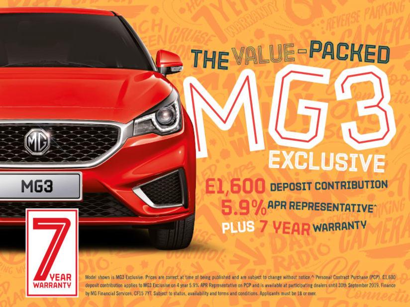New MG3 | Brechin, Angus, Scotland | Mackie Motors MG
