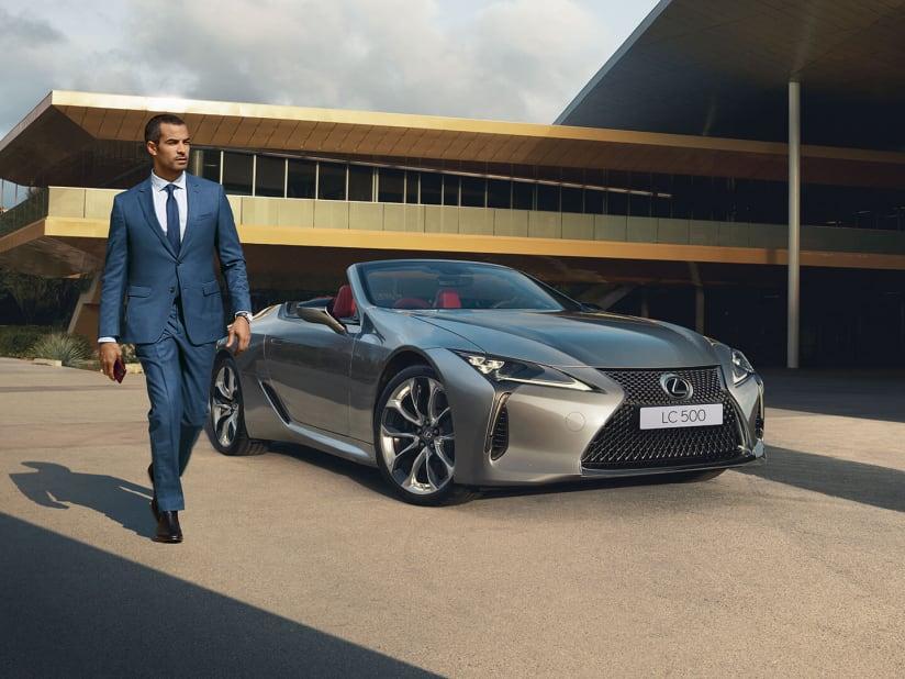 All New Lexus LC Convertible | Devon & Hampshire | Snows Lexus